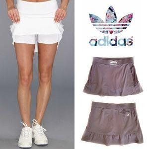 Adidas Climacool Ruffle Skirt Skort Charcoal